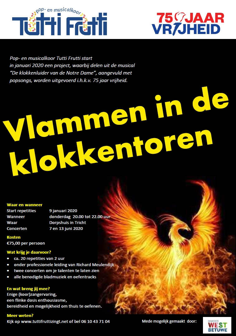 Flyer Klokkenluider-project.